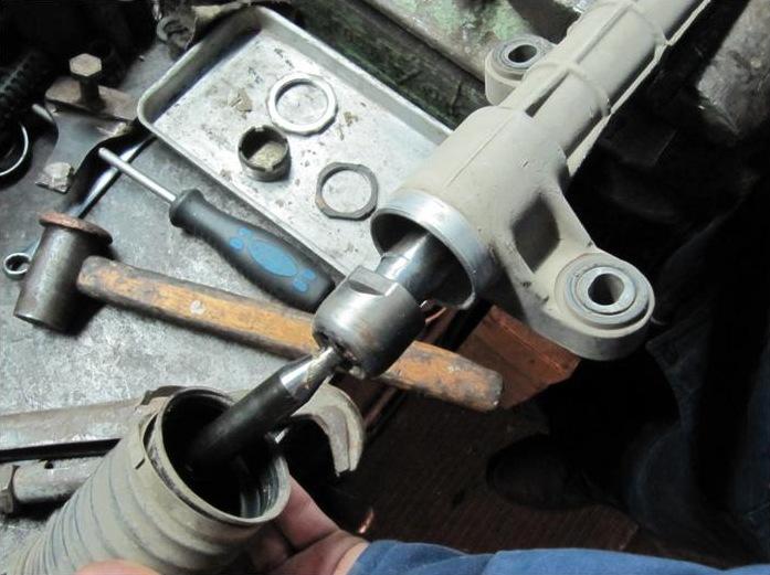 Ремонт рулевой рейки своими руками тойота филдер