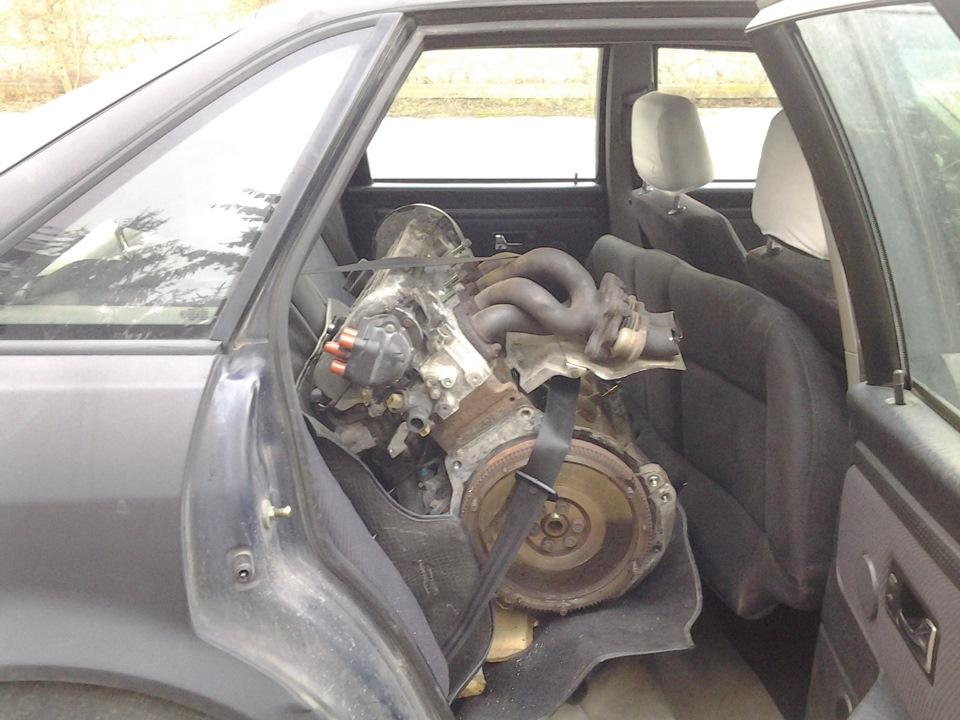 сильно гудит мотор audi 80 b 4 abt
