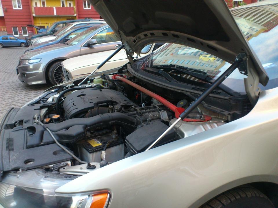 Газовые упоры в багажник лансер 9 своими руками