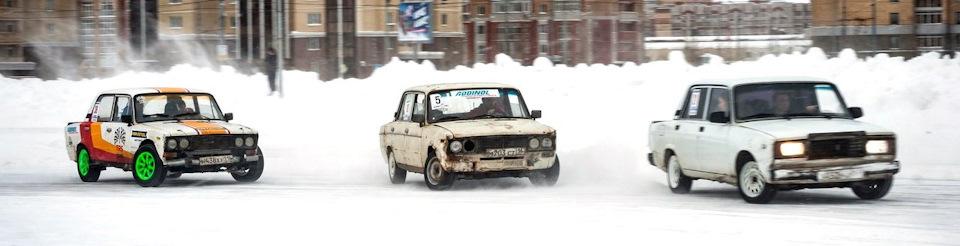 В мацури могут участвовать по 3 и более авто в заезде.