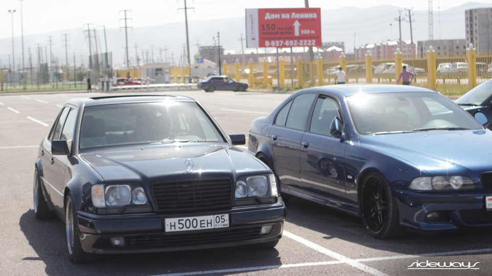 Mercedes benz e class ltd w124 e60 brabus drive2 for Mercedes benz e60 for sale