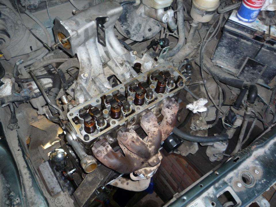 Капремонт двигателя дэу нексия своими руками