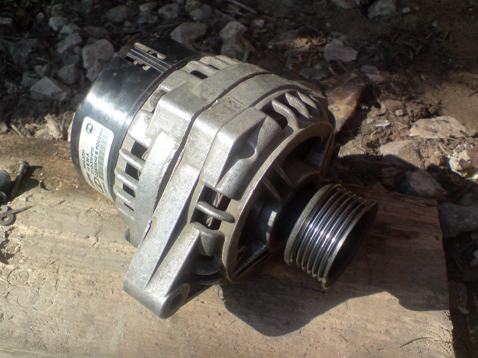 Фото №3 - замена контактных колец на генераторе ВАЗ 2110