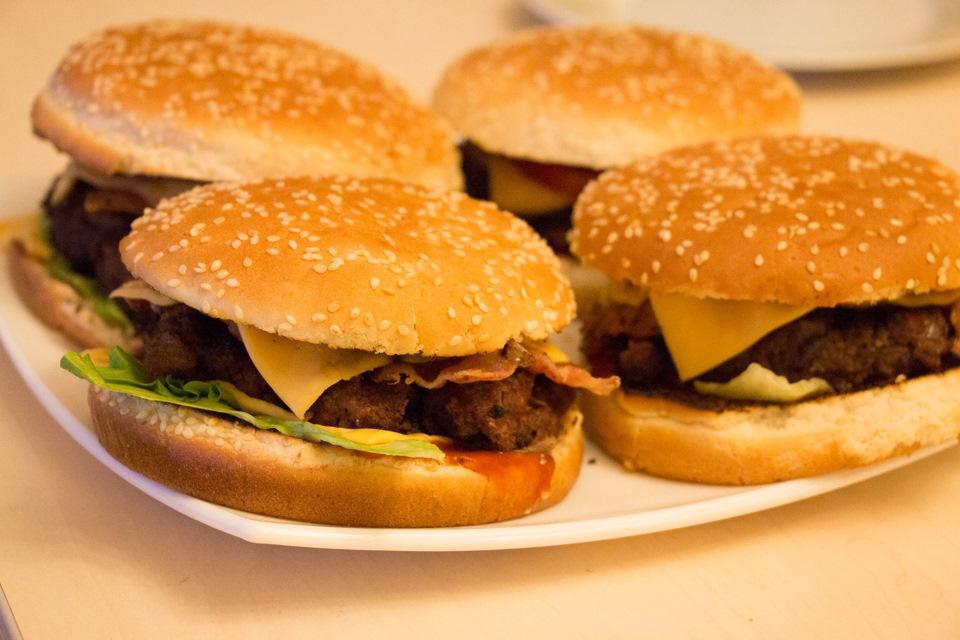 Рецепт бургера в домашних условиях с фото восторге