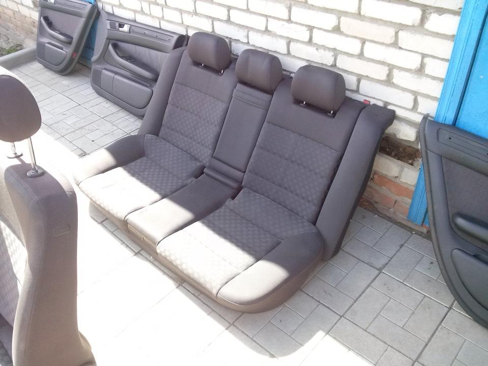 Как снять сиденье ауди а6