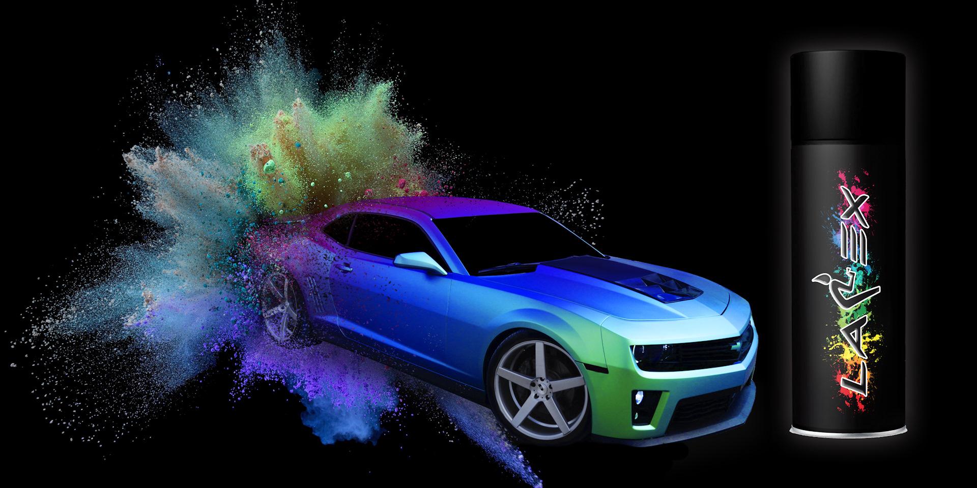 Картинка покраски машин