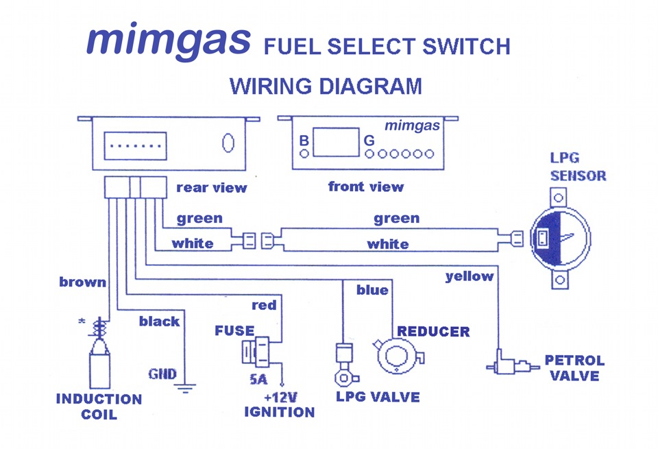 Кнопка газ бензин схема фото 439