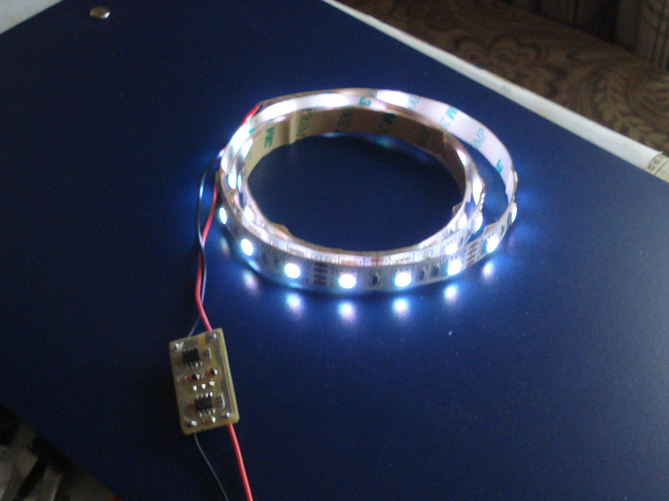 Регулятор яркости светодиодной ленты 174