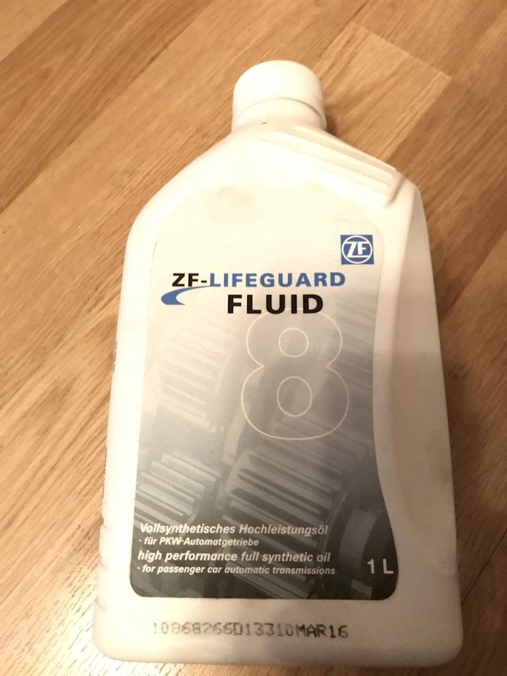 ZF-LIFEGUARD 8 Fluid 1L — продам на DRIVE2