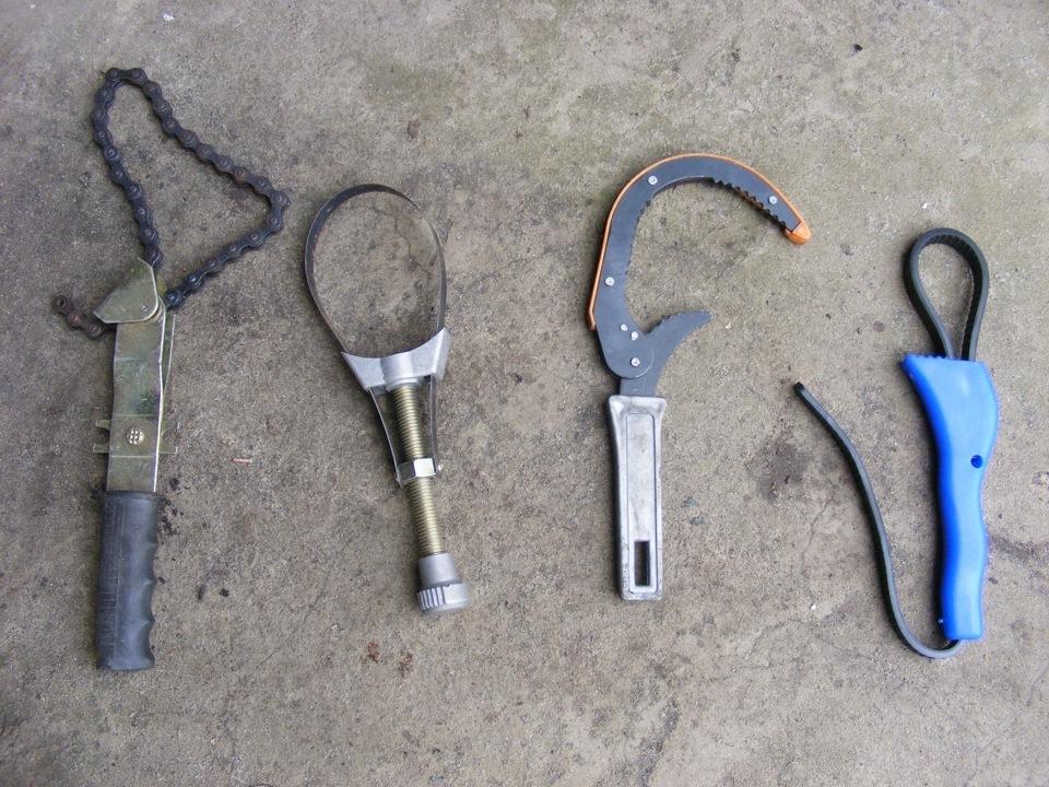 Ключ для масляных фильтров своими руками