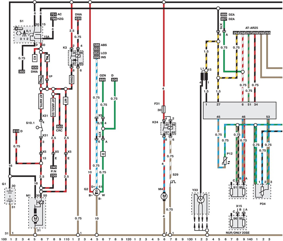 electroscheme opel omega b 1994 1999 logbook opel omega rh drive2 com