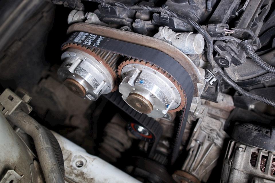 Установка нового комплекта ГРМ Ford Focus III