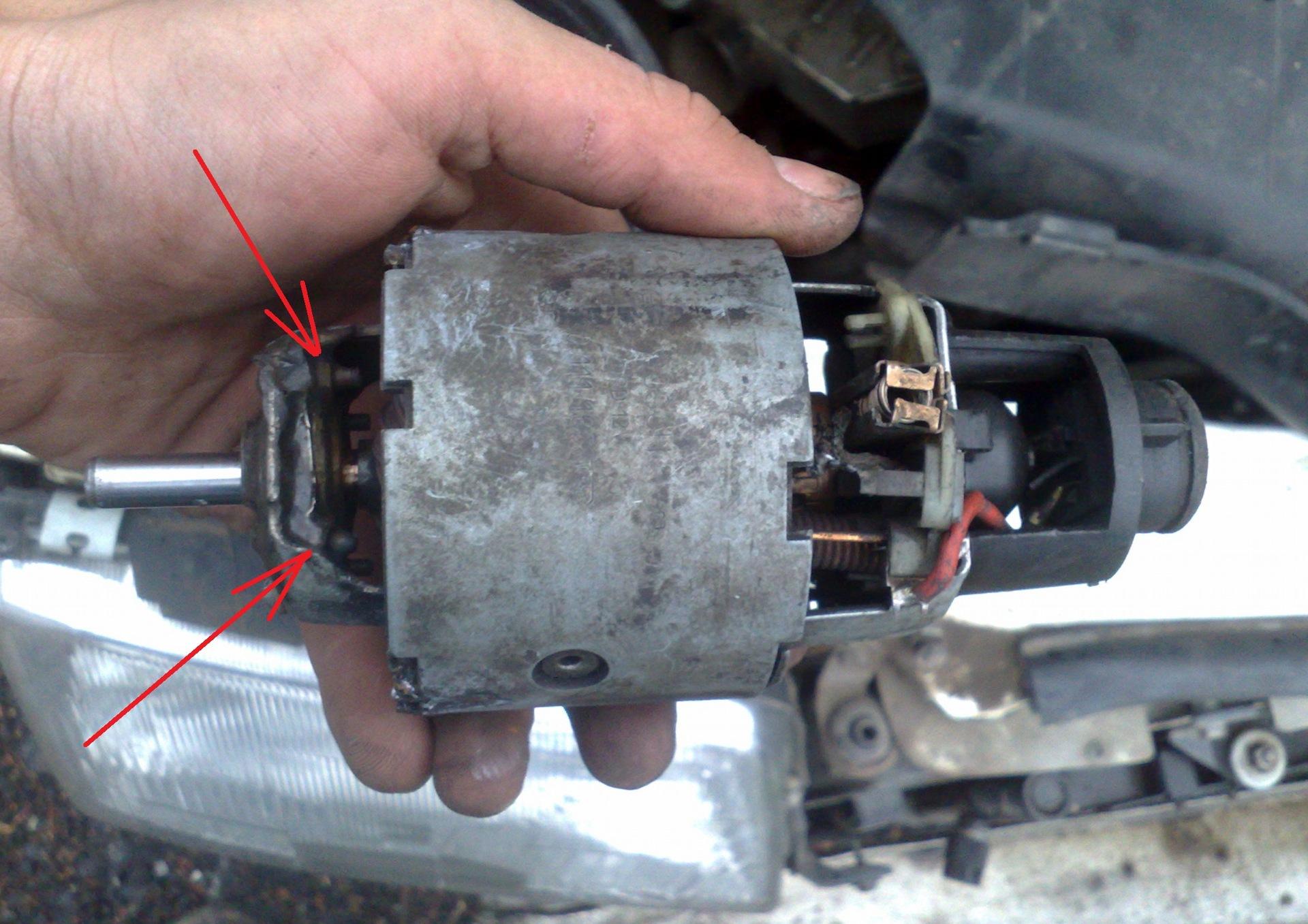 Сто ремонт мотора отопителя