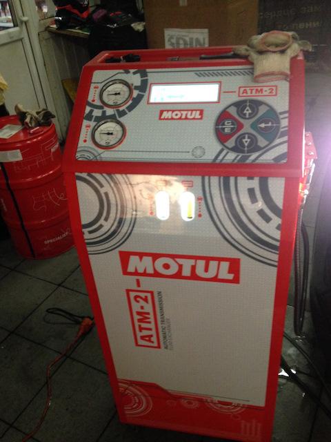 Аппарат по замене масла в вариаторе