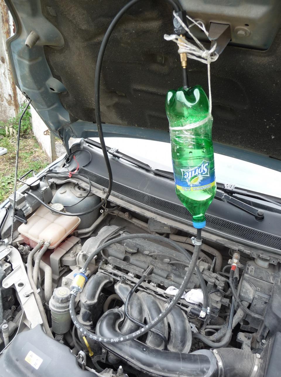 Промывка инжектора и форсунок своими руками форд фокус 2