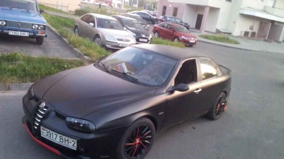 Alfa Romeo 156 Black