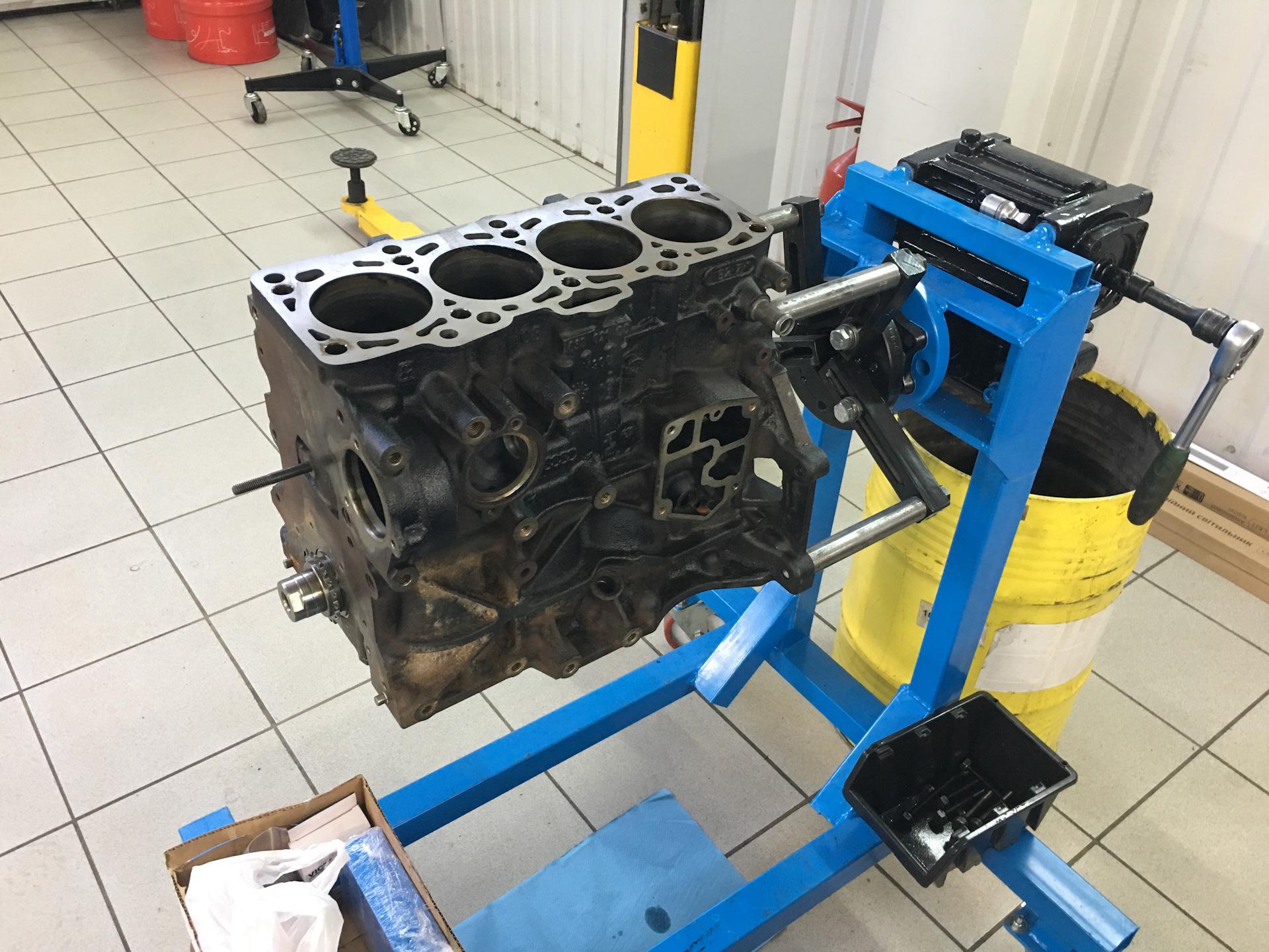 удовольствием посмотрел стенд для ремонта двигателя своими руками фото такой говорящей