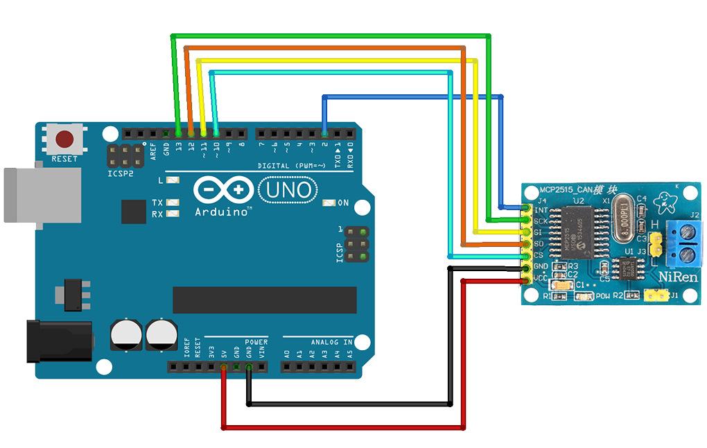 Arduino can своими руками 18