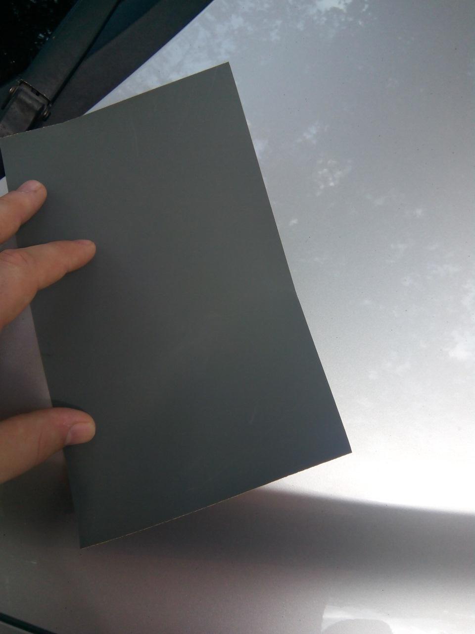 Набор шлифовальной бумаги (med set) c зернистостью #180,320 по 2шт, #240 - 1шт