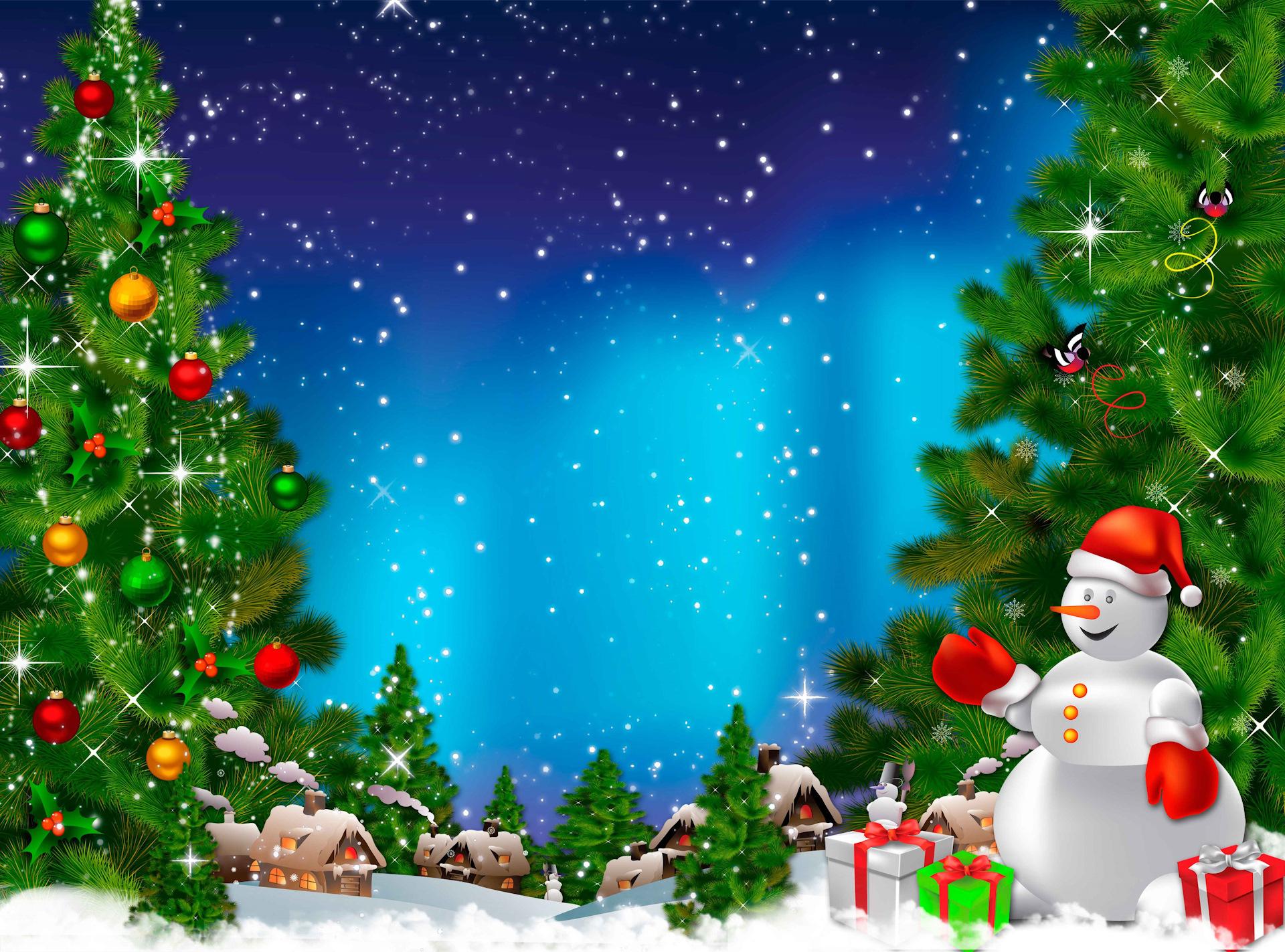 Фоновая картинка с новым годом для детей