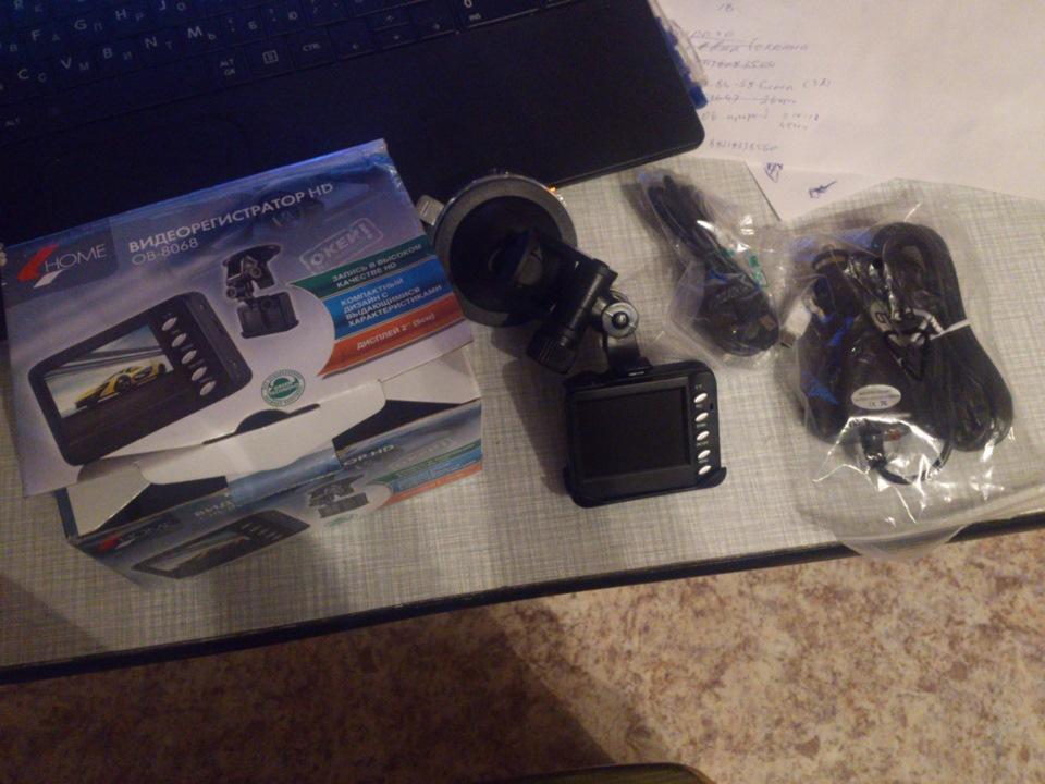 Видеорегистратор Home Ob-8068 инструкция