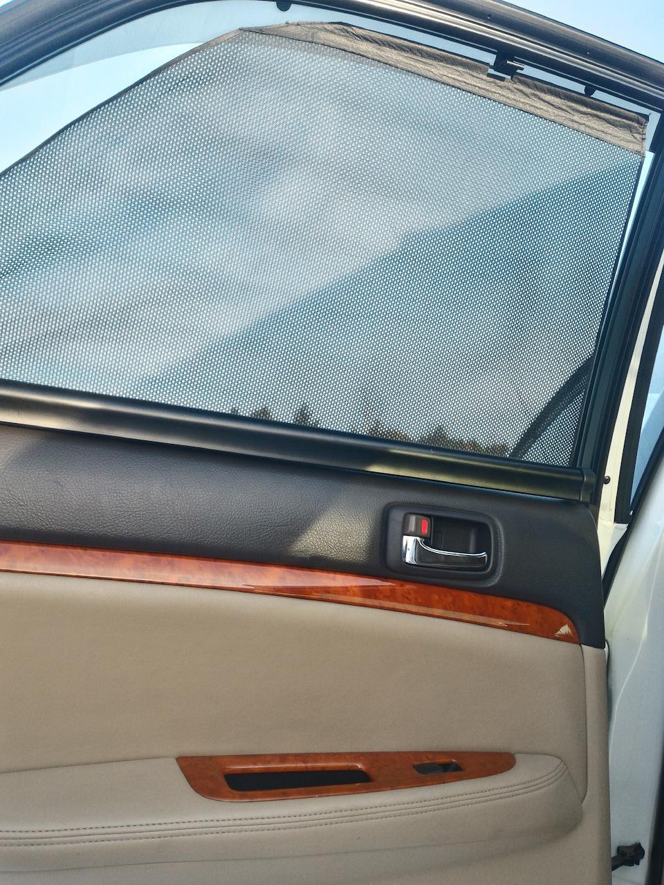 Шторки на стеклах автомобиля своими руками 566