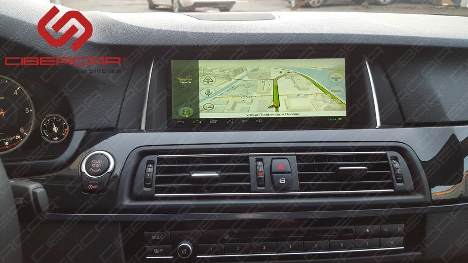 Всем привычный Яндекс.Навигатор с голосовым набором.