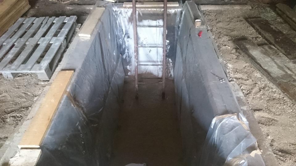 Гидроизоляция ямы в гараже отведение воды адгезивные грунтовки бетоноконтакт это это