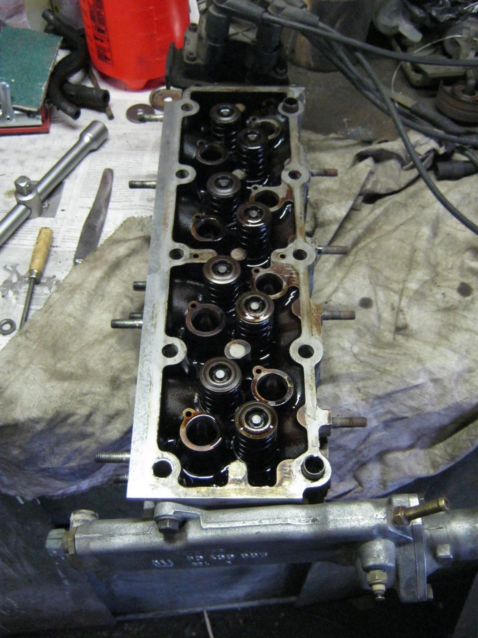 ремонт двигателя opel x20se замена маслянных сальников