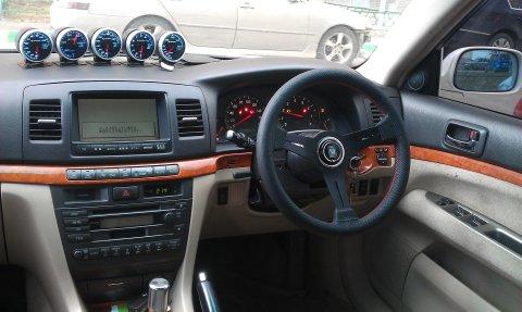 Toyota Марк 2 90 салон