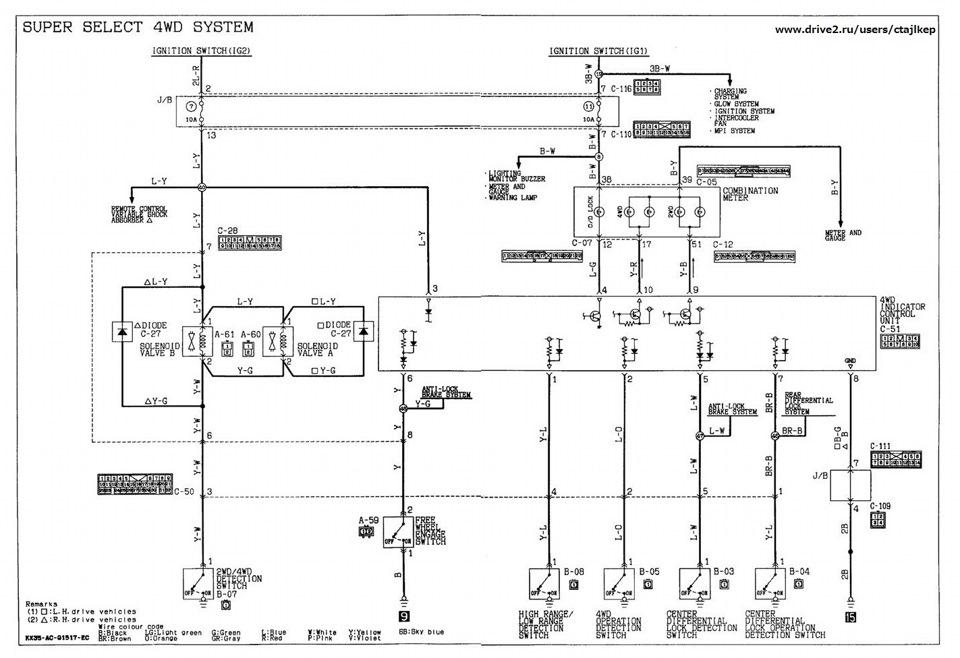 электросхема SS-4WD (нажми