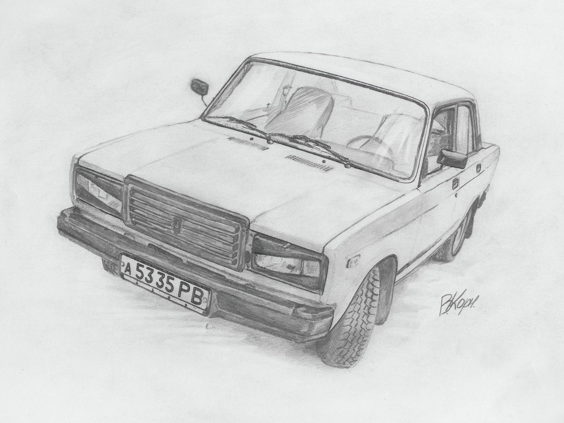 как красивые рисунки русских машин агентстве координировал