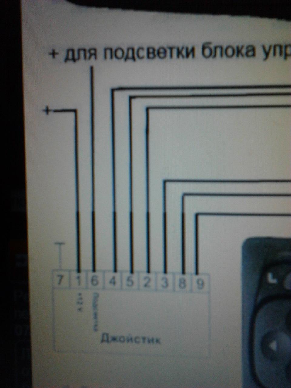 схема подключение зеркал с обогревом на ваз 2110