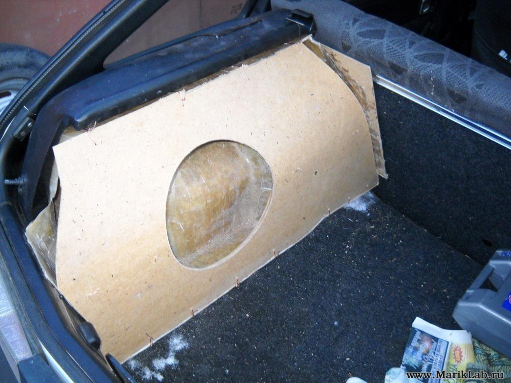Собрать сабвуфер в авто своими руками