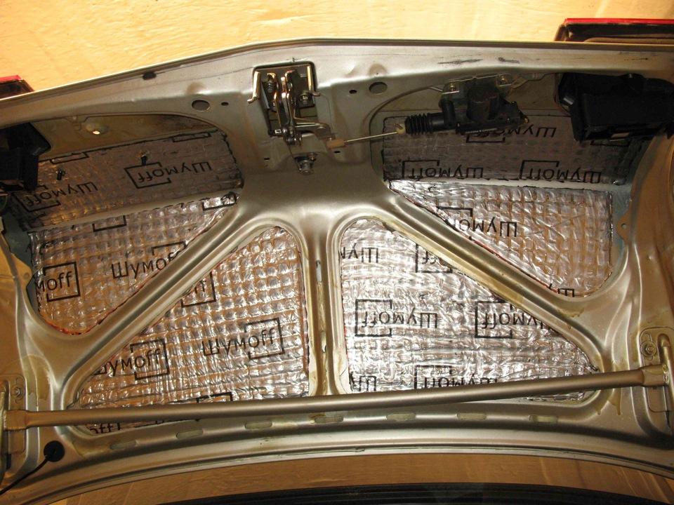 Фото №21 - шумоизоляция крышки багажника ВАЗ 2110