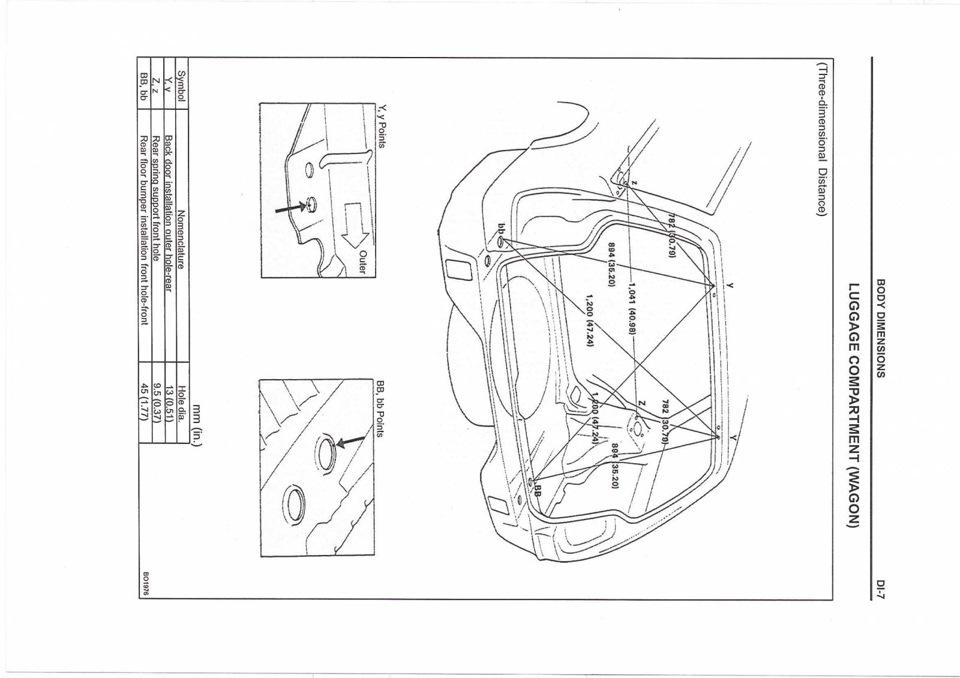 Контрольные размеры кузова sv бортжурнал toyota camry  Информация нужная запись делаю для себя