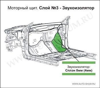 e18ef0cs 960 - Шумоизоляция моторного щита со стороны двигателя