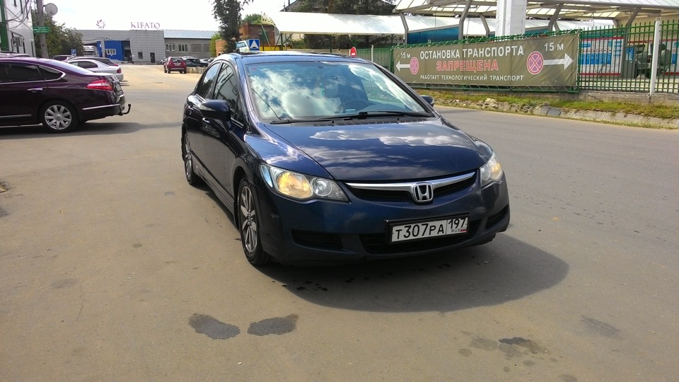 цокот в двигателе honda civic