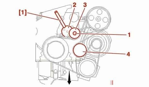 установка ручейкого ремня ситроен эвазион 2.1тди