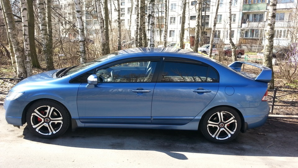 honda civic 2007 4d масса автомобиля