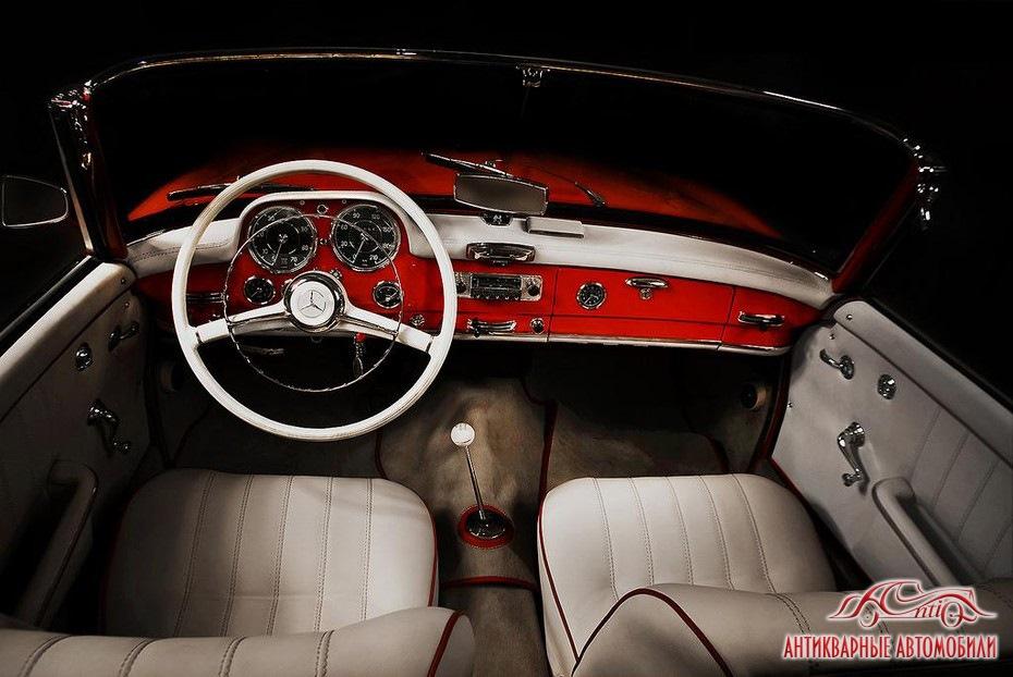 фото салона ретро автомобилей