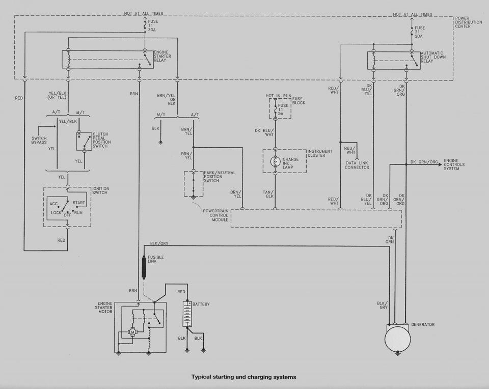 Схемы элетрооборудования