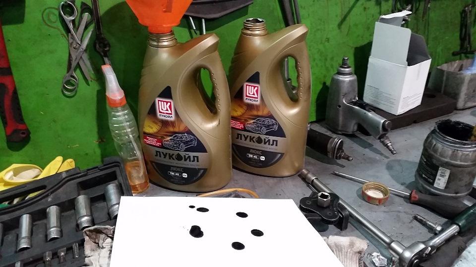 Замена масла на паджеро 4 дизель своими руками