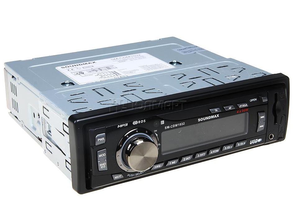 Наконец таки поставил себе магнитолу Soundmax (SM-CDM1032).  Брал из дешевых с usb на первое время, со временем...