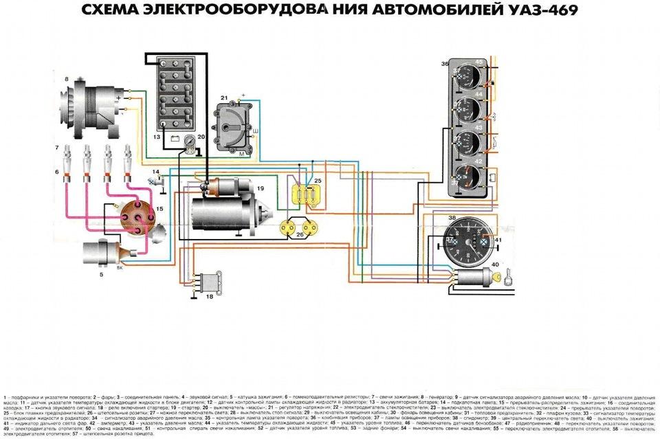 Переделка проводки уаз буханка своими руками 839