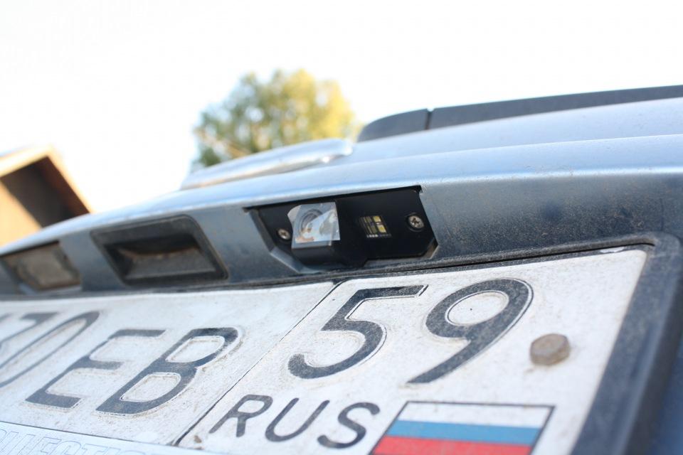 видеокамера заднего вида для форд фокус 2