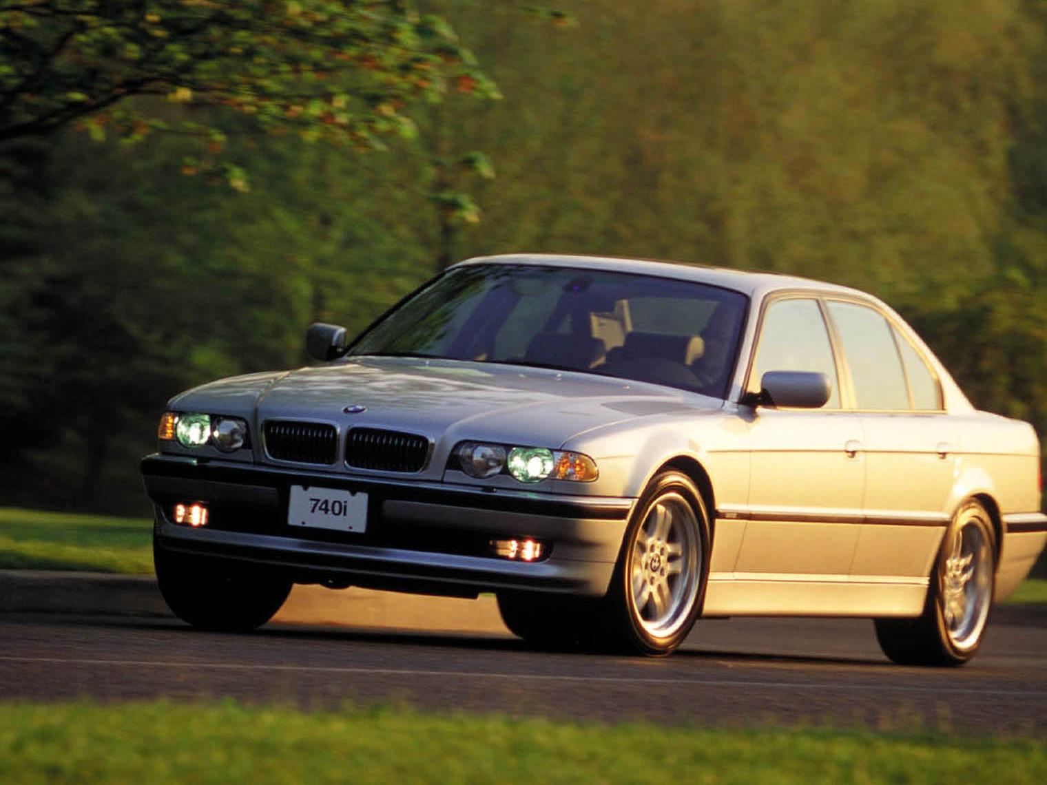 видео обзор BMW 7 e38