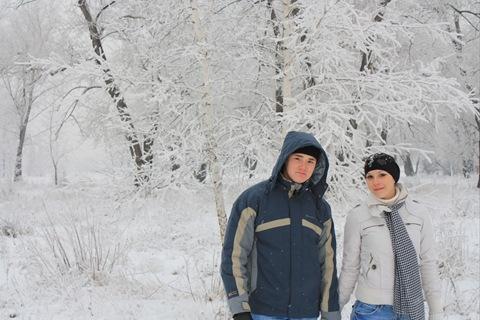 Парочки зимой картинки