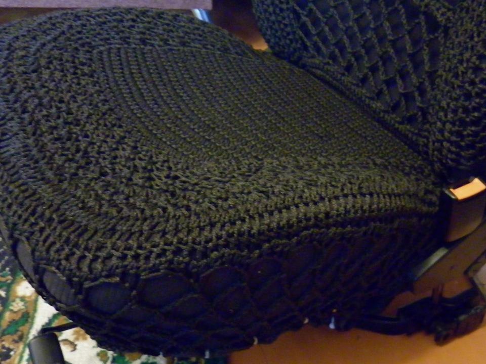 Оригинальные вязаные чехлы сидений