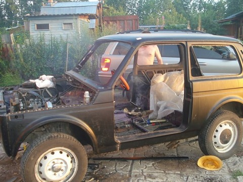 Авто ремонт своими руками нива шевроле 94